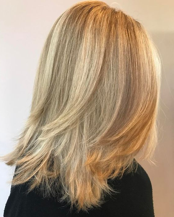 33 Textured Revealing Layered Haircuts | Hair | Pinterest | Medium with regard to Long Texture-Revealing Layers Hairstyles