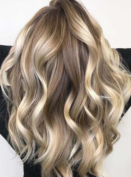 34 Absolutely Gorgeous Balayage Highlights For Long Hair 2018 With Highlights For Long Hair (View 5 of 25)