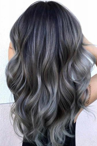 34 Beautiful Gray Hair Ideas | Lovehairstyles Inside Long Hairstyles For Grey Hair (View 11 of 25)