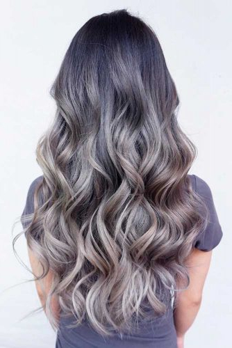 34 Beautiful Gray Hair Ideas | Lovehairstyles Throughout Long Hairstyles Grey Hair (View 13 of 25)