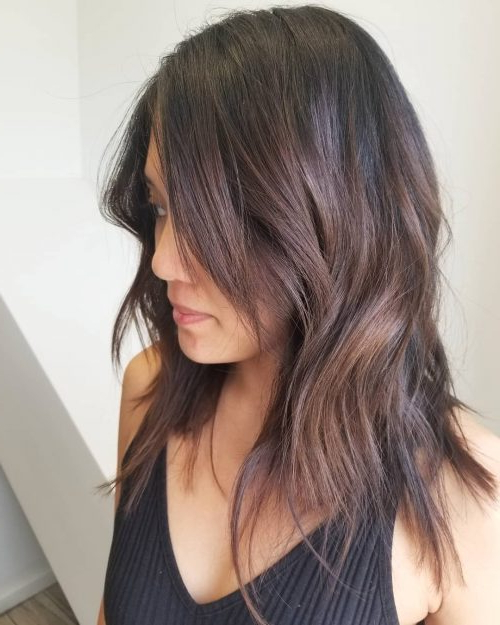 34 Best Choppy Layered Hairstyles (That Will Flatter Anyone) Inside Choppy Layers For Straight Long Hairstyles (View 21 of 25)