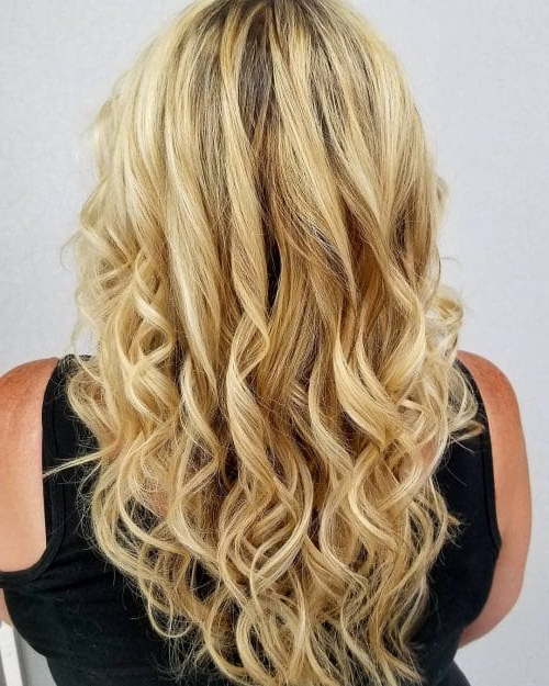 34 Cutest Long Layered Haircuts Trending In 2019 In Brown Blonde Hair With Long Layers Hairstyles (View 8 of 25)