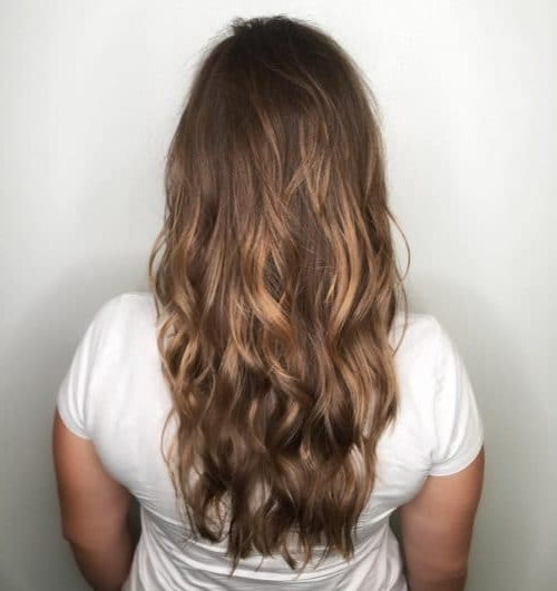 34 Cutest Long Layered Haircuts Trending In 2019 Regarding Textured Long Haircuts (View 4 of 25)