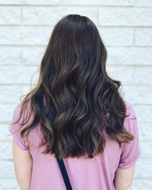 34 Cutest Long Layered Haircuts Trending In 2019 Throughout Black Hair Long Layers (View 2 of 25)