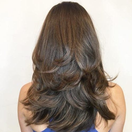 34 Cutest Long Layered Haircuts Trending In 2019 With Regard To Heavy Layered Long Hairstyles (View 18 of 25)