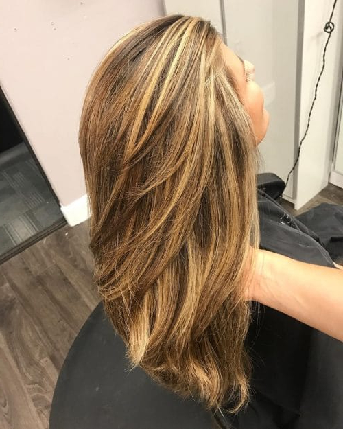 34 Cutest Long Layered Haircuts Trending In 2019 Within Long Hairstyles Layers (View 5 of 25)