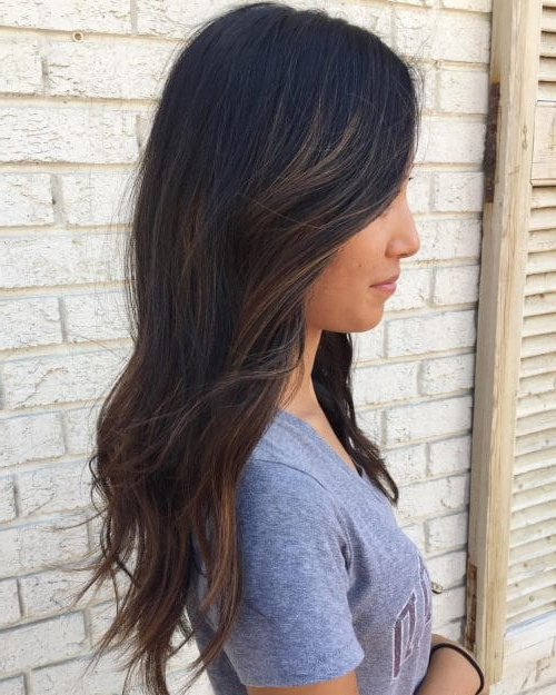 34 Cutest Long Layered Haircuts Trending In 2019 Within Long Layered Black Haircuts (View 7 of 25)