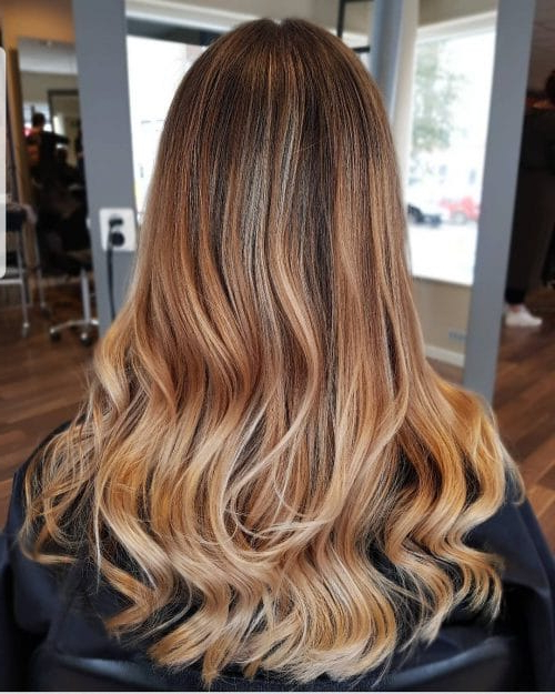 34 Cutest Long Layered Haircuts Trending In 2019 Within Long Layered Waves Hairstyles (View 13 of 25)