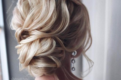 34 Cutest Prom Updos For 2019 – Easy Updo Hairstyles Pertaining To Asymmetrical Knotted Prom Updos (View 9 of 25)