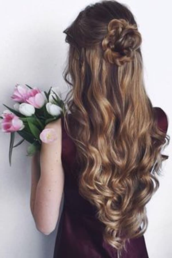 34 Easy Homecoming Hairstyles For 2019 Short,medium & Long Intended For Long Hairstyles For Homecoming (View 15 of 25)