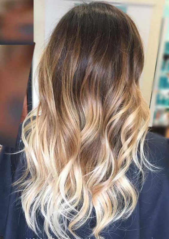 34 Fantastic Long Wavy Ombre Hairstyles In 2018 | Hollysoly Within Long Hairstyles Ombre (View 6 of 25)