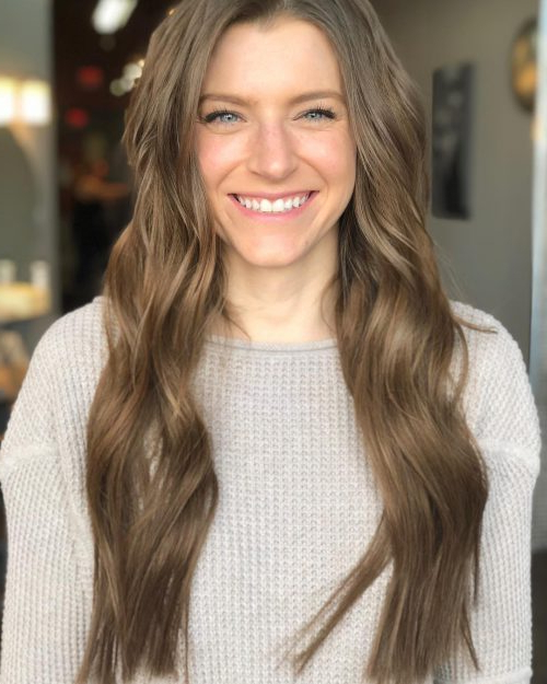 34 Hottest Long Brown Hair Ideas For Women In 2019 Pertaining To Long Hairstyles Brown (View 2 of 25)