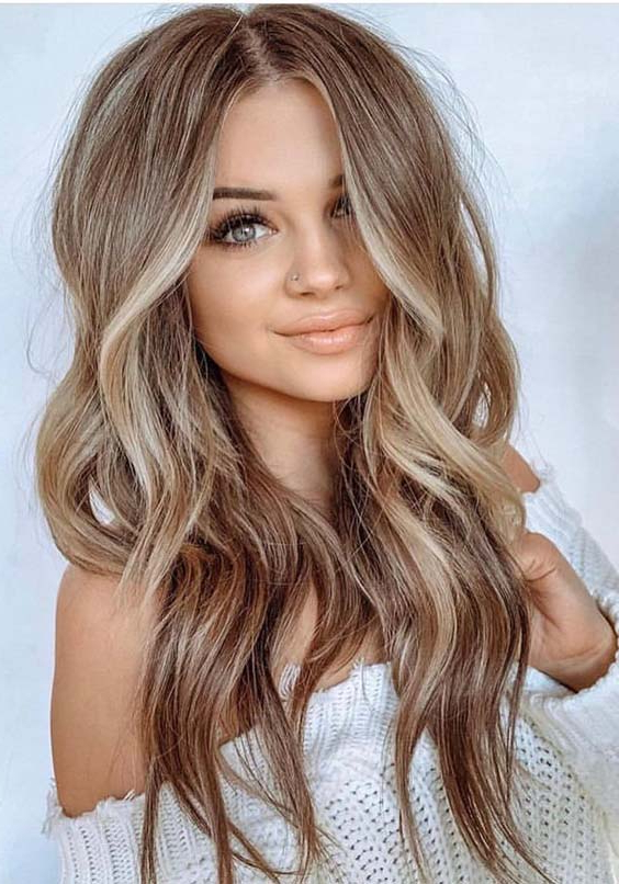 34 Most Amazing Balayage Long Hairstyles For Women 2019 | Absurd Styles Within Long Hairstyles Women (View 10 of 25)