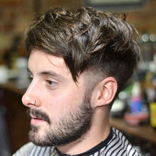 35 Best Short Sides Long Top Haircuts [2019 Guide] Pertaining To Side Long Hairstyles (View 7 of 25)