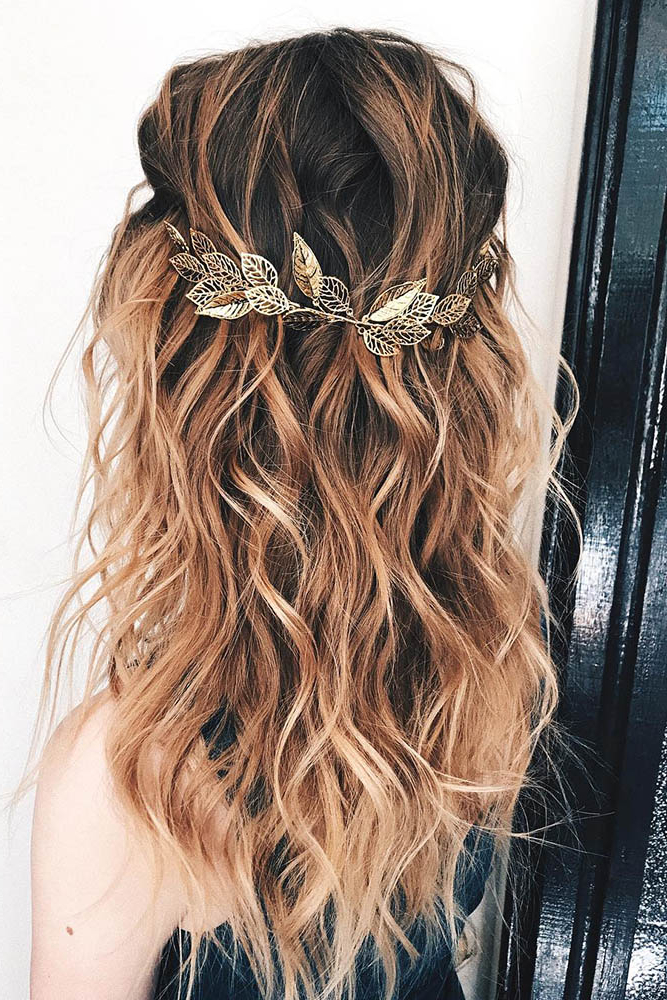 35 Boho Inspired Unique And Creative Wedding Hairstyle – My Stylish Zoo Intended For Boho Long Hairstyles (View 21 of 25)