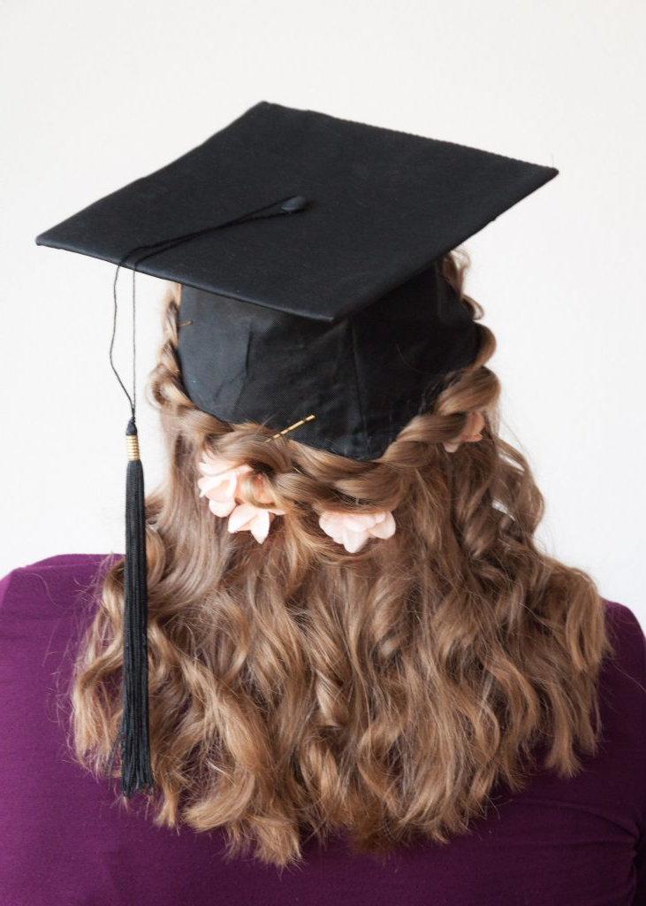 35 Graduation Hairstyles (And 3 Hair Hacks To Achieve Them Intended For Long Hairstyles For Graduation (View 22 of 25)