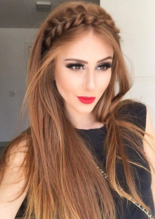 35 Latest Party Hairstyles For Womens 2018 | Hairstyles | Long Hair Intended For Long Hairstyles For Party (View 8 of 25)