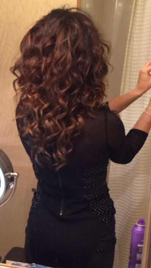 35 Long Layered Curly Hair | Curly Girl | Curly Hair Styles, Long With Long Curly Layers Hairstyles (View 4 of 25)
