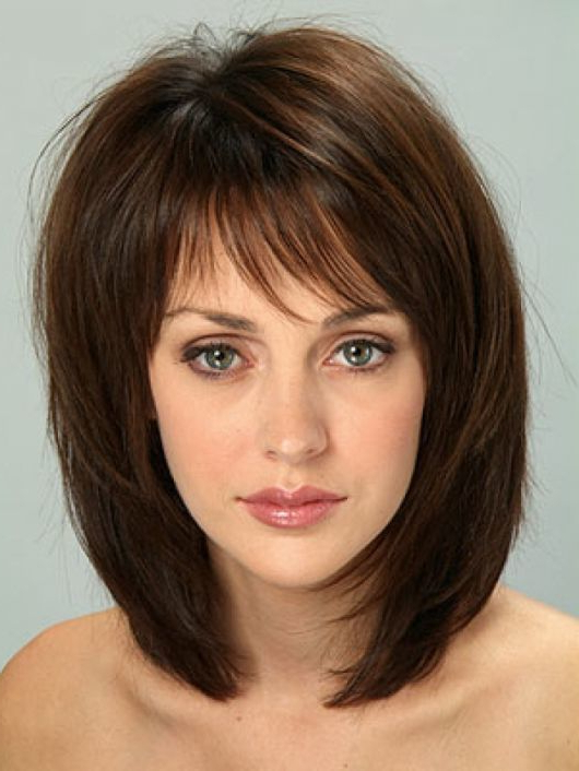 35 Magical Bob With Bangs To Catch The Spotlight Pertaining To Long Bob Hairstyles With Bangs (View 23 of 25)