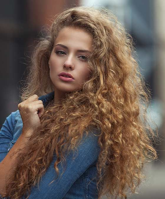 35 Perm Hairstyles: Stunning Perm Looks For Modern Texture For Long Permed Hairstyles With Bangs (View 11 of 25)