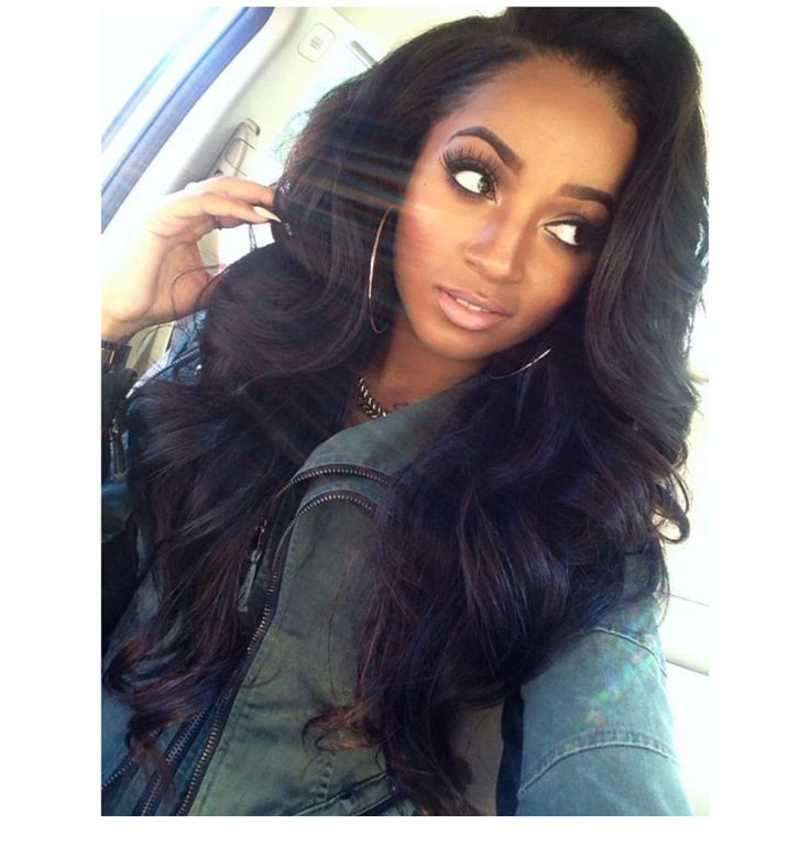 35 Simple But Beautiful Weave Hairstyles For Black Women | Hairstylo Throughout Long Hairstyles Weave (View 11 of 25)