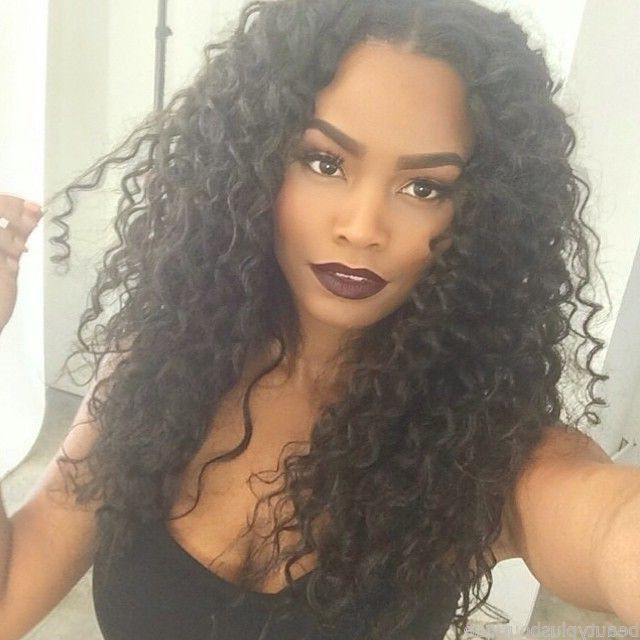 35 Simple But Beautiful Weave Hairstyles For Black Women | Hairstylo With Regard To Long Weave Hairstyles (View 7 of 25)