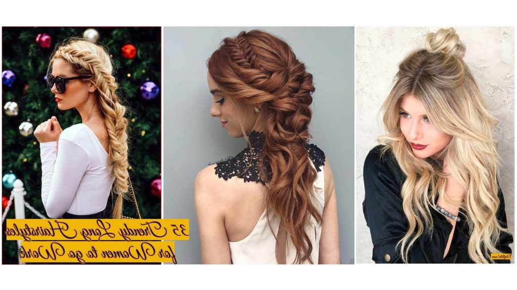 35 Trendy Long Hairstyles For Women To Go Work – Outfital For Long Hairstyles For Work (View 14 of 25)