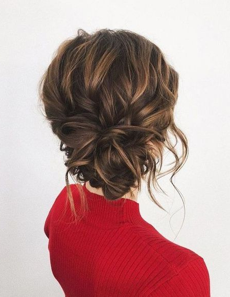 35 Trendy Prom Updos – Hairstyles & Haircuts For Men & Women Within Twisted Low Bun Hairstyles For Prom (View 8 of 25)