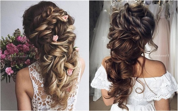 35 Wedding Updo Hairstyles For Long Hair From Ulyana Aster | Deer Pertaining To Long Hairstyles Wedding (View 13 of 25)
