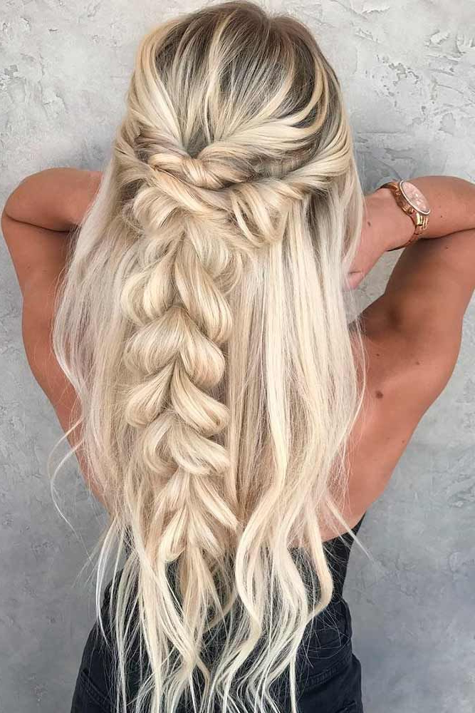 36 Easy Summer Hairstyles To Do Yourself | Hair | Hair Styles, Curly Pertaining To Long Hairstyles Do It Yourself (View 11 of 25)