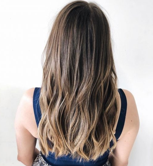 36 Perfect Hairstyles For Long Thin Hair (Trending For 2019!) With Regard To Long Hairstyles Dark (View 24 of 25)
