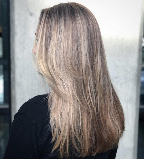 36 Perfect Hairstyles For Long Thin Hair (Trending For 2019!) Within Long Hairstyles Cuts (View 14 of 25)