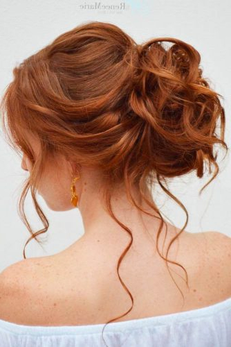 36 Trendy Updo Hairstyles For You To Try | Lovehairstyles Inside Medium Long Hair Updos (View 17 of 25)