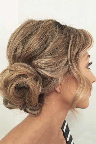 36 Trendy Updo Hairstyles For You To Try | Lovehairstyles Pertaining To Long Hairstyles Updos With Fringe (View 23 of 25)