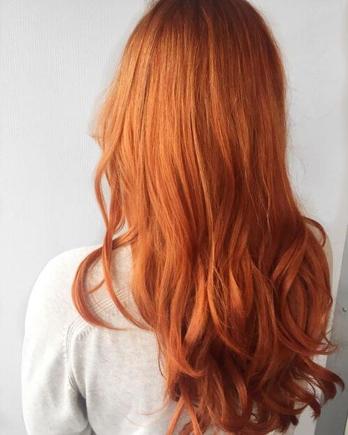 37 Best Red Hair Color Shade Ideas Trending In 2019 Regarding Long Hairstyles For Red Hair (View 13 of 25)