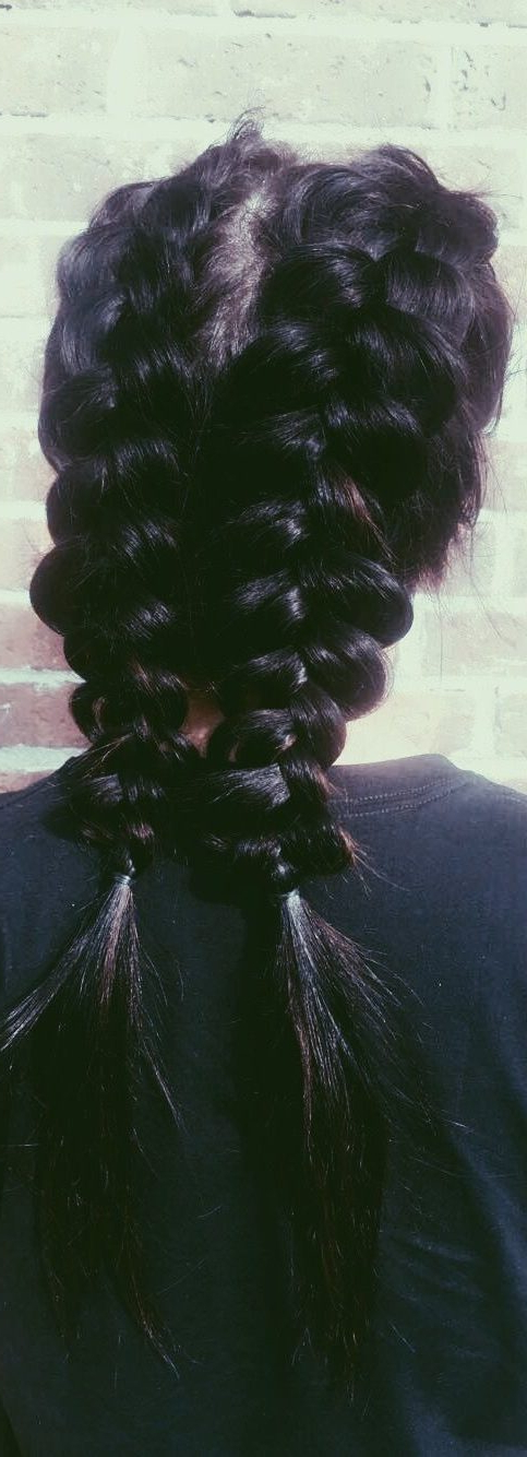 37 Dutch Braid Hairstyles – Braided Hairstyles With Tutorials – With Regarding Braid Spikelet Prom Hairstyles (View 22 of 25)