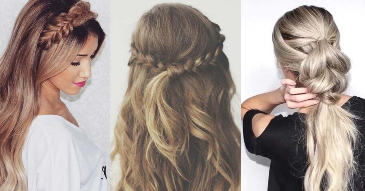37 Easy Hairstyles For Work – The Goddess For Long Hairstyles For Work (View 2 of 25)