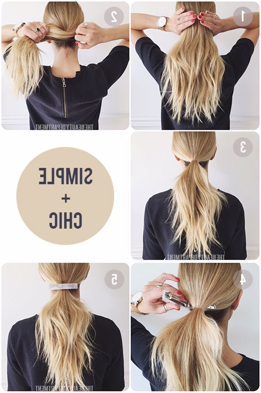 37 Easy Hairstyles For Work – The Goddess Regarding Long Hairstyles Easy And Quick (View 22 of 25)