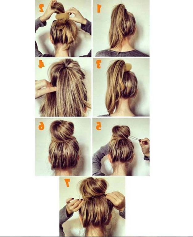 37 Easy Hairstyles For Work – The Goddess Throughout Long Hairstyles Easy And Quick (View 10 of 25)