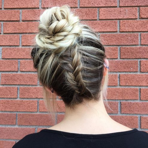 37 Inspiring Prom Updos For Long Hair For 2019 #inspo In Messy Braided Prom Updos (View 14 of 25)