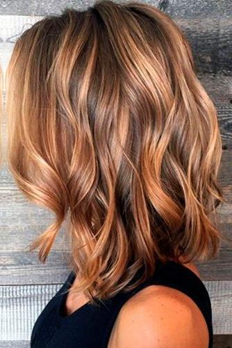 37 Trendy Hairstyles For Medium Length Hair ? Lovehairstyles Regarding Long Hairstyles Beach Waves (View 11 of 25)