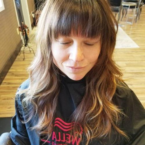 38 Flattering Long Hair With Bangs Trending In 2019 Pertaining To Long Haircuts Bangs (View 16 of 25)