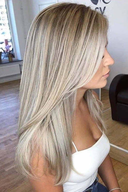 38 Popular Hair Color Ideas 2018 2019 | Hair Color Ideas 2018 Within Long Blonde Hair Colors (View 1 of 25)