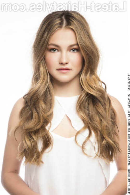 38 Ridiculously Cute Hairstyles For Long Hair (Popular In 2019) For Casual Hairstyles For Long Curly Hair (View 12 of 25)