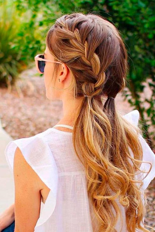 38 Ridiculously Cute Hairstyles For Long Hair (Popular In 2019) Throughout Cute Braided Hairstyles For Long Hair (View 5 of 25)