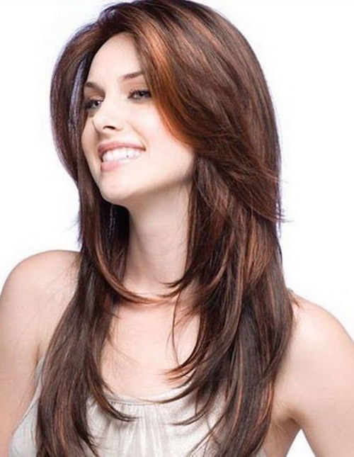 39 Long Hairstyles With Layers: Get The Celebrity Look In Minutes Inside Long Hairstyles With Choppy Layers (View 14 of 25)