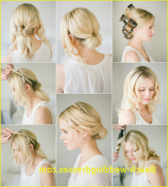 4 List Wedding Hairstyles For Long Thin Hair | Beach Weddingdresses Pertaining To Wedding Updos For Long Thin Hair (View 15 of 25)