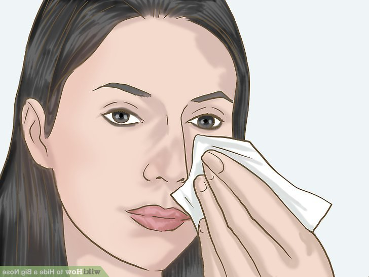 4 Ways To Hide A Big Nose – Wikihow Throughout Hairstyles For Long Face And Big Nose (View 7 of 25)