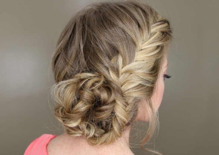 40 Amazing Fishtail Braid Hairstyle For Women 2019 With Double Fishtail Braids For Prom (View 16 of 25)