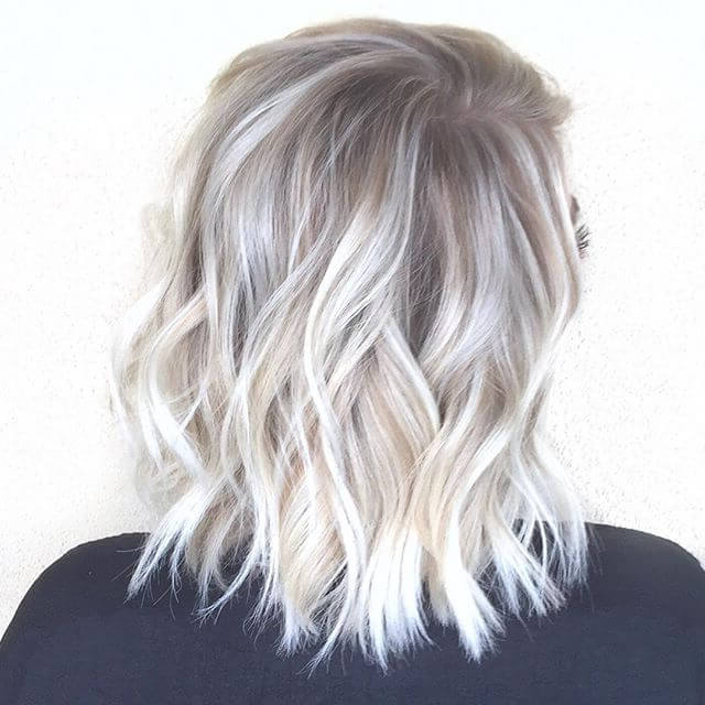 40 Beautiful Styles To Elevate Your Platinum Blonde Hair – My Throughout Loose Layers Hairstyles With Silver Highlights (View 5 of 25)